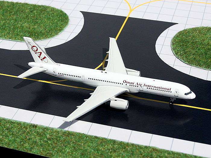 Omni Air 757-200 (1:400), GeminiJets 400 Diecast Airliners, Item Number GJOAE565