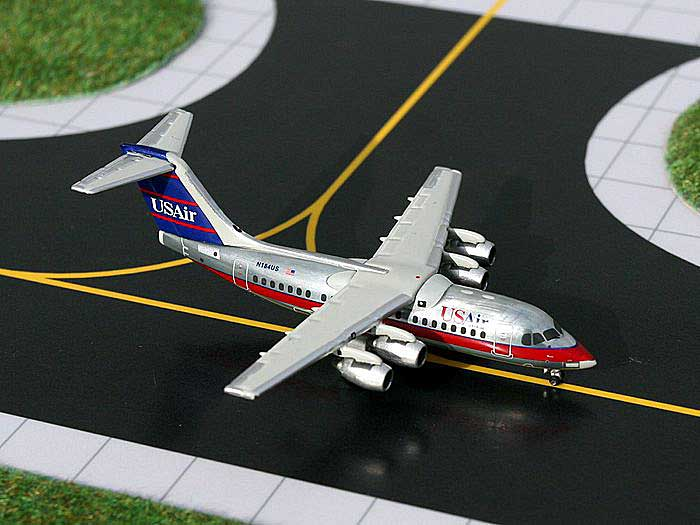 US Air BAe 146-200 (1:400), GeminiJets 400 Diecast Airliners, Item Number GJUSA676