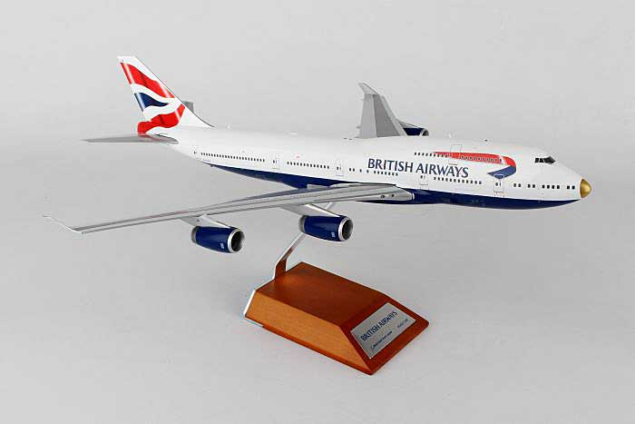 "British Airways B747-400 ""VictoRIOus"" G-CIVA (1:200), JC Wings Diecast Airliners, Item Number JC2BAW415"