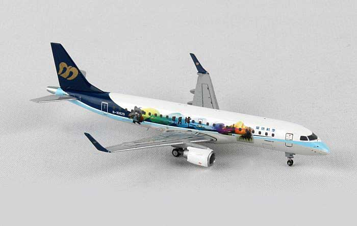 "Mandarin ERJ-190 ""Sun Moon Lake"" B-16829 w/Ant. (1:400), JC Wings Diecast Airliners, Item Number JC4MDA669"
