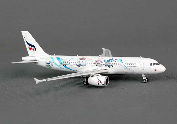 "Bangkok A320 ""45th Anniversary"" HS-PPE ((1:400)), Phoenix (1:400) Scale Diecast Aircraft, Item Number PH4BKP1189"