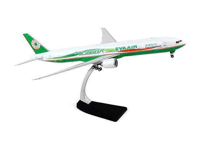 "EVA B777-300ER ""Ribbon"" B-16701 (1:200), Phoenix 1:200 Scale Diecast Aircraft, Item Number PH2EVA123"