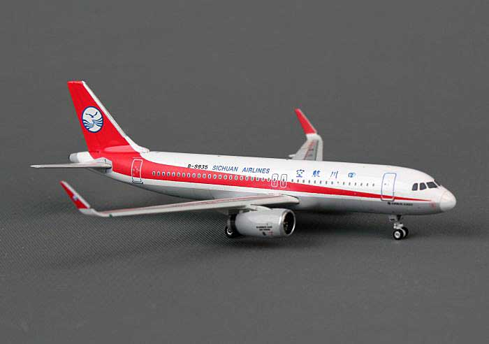 Sichuan A320 with Sharklets B-9935 ((1:400)), Phoenix (1:400) Scale Diecast Aircraft, Item Number PH4CSC959