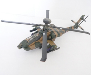 Boeing AH-64D Apache Longbow , JASDF (1:100) by De Agostini Diecast Aircraft Item Number: DAJSDF03