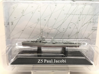 German Kriegsmarine destroyer Z5 Paul Jacobi, 1936 (1:1250)