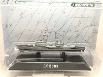 German Bundesmarine destroyer Luetjens, 1967 (1:1250)