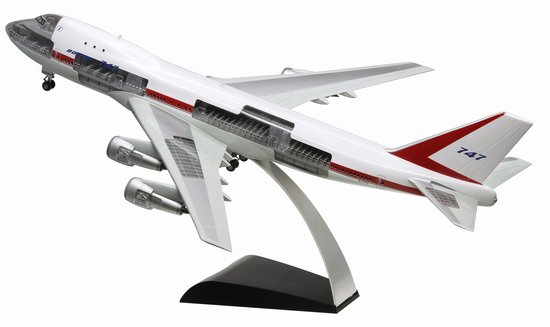 "Boeing 747-100 Maiden Flight ""City of Everett"" (1:144) - Cutaway Model!, DragonWings 1:144 scale Diecast Warbirds Item Number DRP47012"