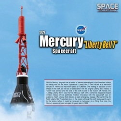 "Mercury ""Liberty Bell 7"" Spacecraft (1:72), DragonWings 1:72 Scale Diecast Warbirds Item Number DRW50393"