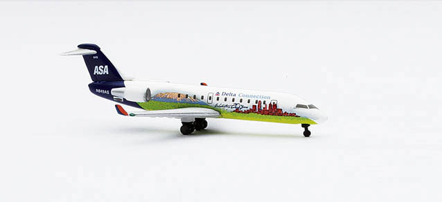 Delta Connection / Atlantic Southeast Airlines CRJ200ER (1:500), Herpa 1:500 Scale Diecast Airliners Item Number HE512572