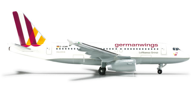 Germanwings A319 (1:500) New Livery