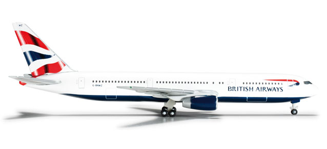 British Airways 767-300 (1:500) REG# G-BNWZ