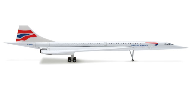 British Airways Concorde (1:500) G-BOAD
