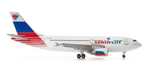 "Aeroflot A310 ""Test Livery"" (1:500), Herpa 1:500 Scale Diecast Airliners Item Number HE518185"