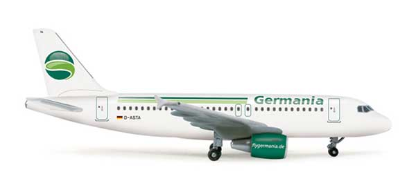 Germania A319 (1:500) - Special Sale Item