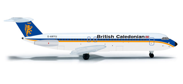 British Caledonian BAC-111-500 (1:500), Herpa 1:500 Scale Diecast Airliners Item Number HE523295