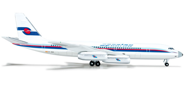 Spantex CV-990 (1:500), Herpa 1:500 Scale Diecast Airliners Item Number HE523745