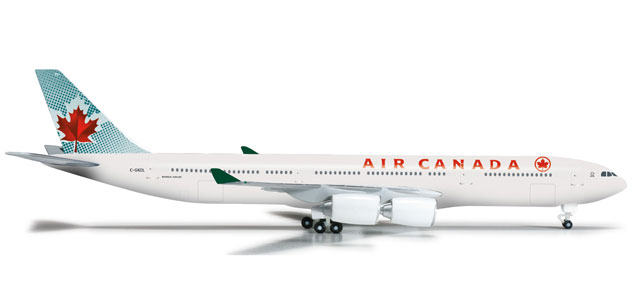 Air Canada A340-500 (1:500), Herpa 1:500 Scale Diecast Airliners Item Number HE524650