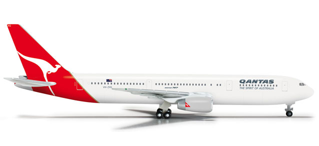 Qantas 767-300 (1:500), Herpa 1:500 Scale Diecast Airliners Item Number HE524773