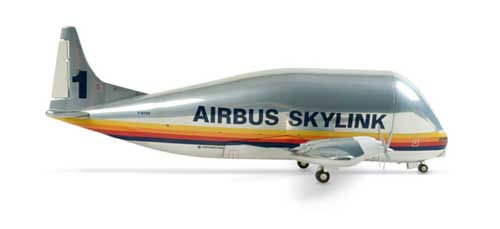 Airbus 377sgt Supper Guppy (1:200), Herpa 1:200 Scale Diecast Airliners Item Number HE553254