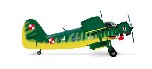 Polish Air Force AN-2 Der Wiener 13 Eltr (1:200)