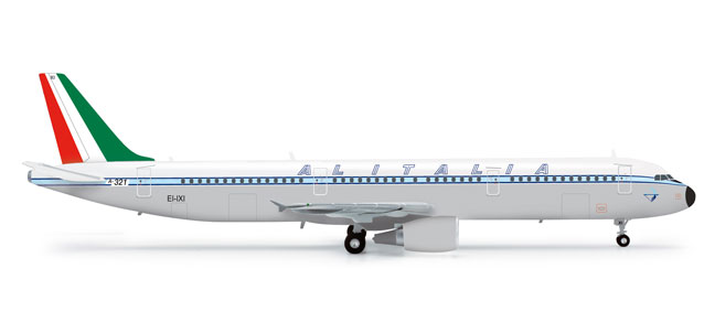 Alitalia A321 (1:200) Retrojet, Herpa 1:200 Scale Diecast Airliners Item Number HE555166