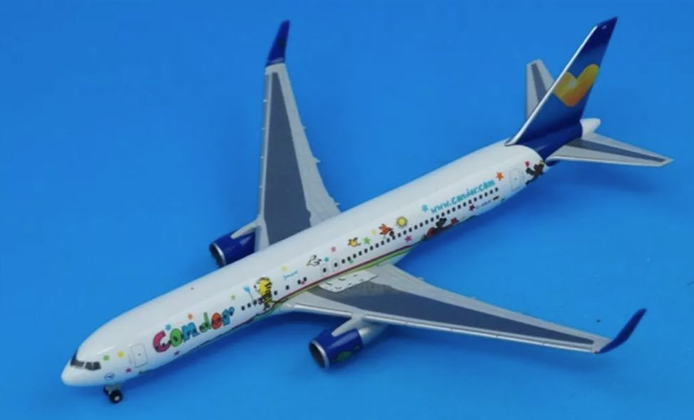 Condor 767-300 (1:200) Janosch, Herpa 1:200 Scale Diecast Airliners Item Number HE556231