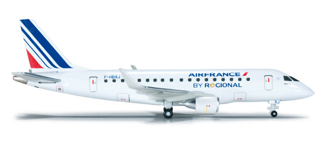 Air France Regional ERJ-170 (1:400), Herpa 1:400 Scale Diecast Airliners Item Number HE562331