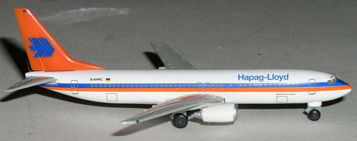Hapag Lloyd B737-800 (1:500), Herpa 1:500 Scale Diecast Airliners Item Number HE511186