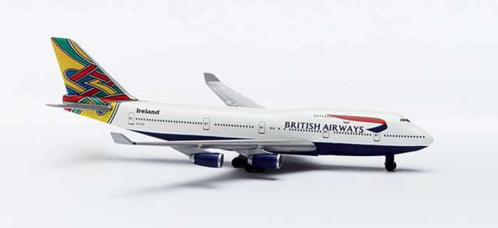 "British Airways B747-400 ""COLUM"" (1:500), Herpa 1:500 Scale Diecast Airliners Item Number HE511537"