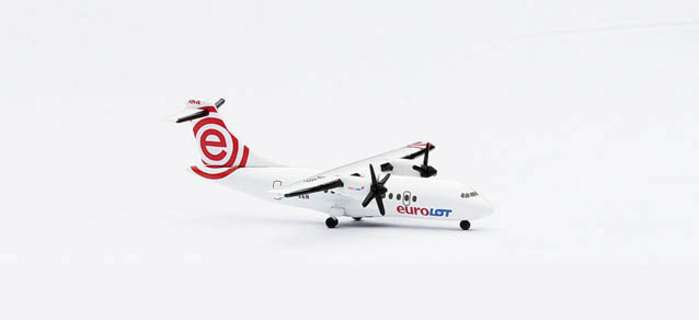 Eurolot ATR-42 (1:500), Herpa 1:500 Scale Diecast Airliners Item Number HE511629