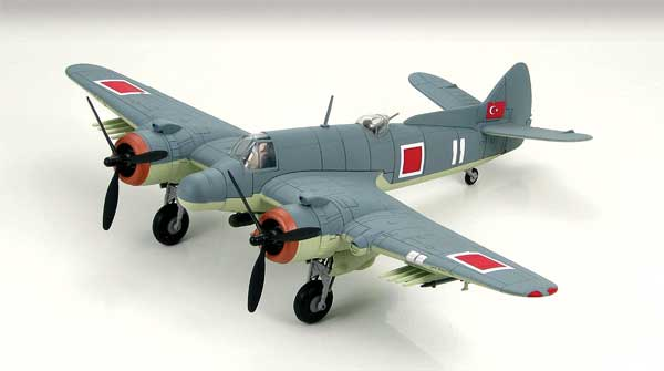 Bristol Beaufighter TF Mk.X 1st Squadron, Torpedo Group 5, Turkey (1:72), Hobby Master Diecast Airplanes Item Number HA2312