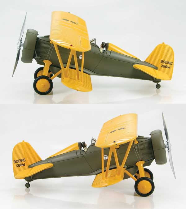 Boeing 218 P-12 Prototype, Robert Short, 1932 (1:48), Hobby Master Diecast Airplanes Item Number HA7904