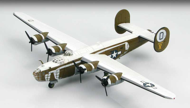 B-24D Liberator 392nd Bomb Group, Wendling, January, 1944 (1:144), Hobby Master Diecast Airplanes Item Number HA9102