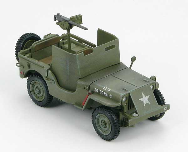 Willys MB Jeep, Europe 1944 (1:48), Hobby Master Diecast Military Armor Item Number HG1602