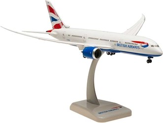 British Airways 787-8 With Gear, G-ZBJA (1:200), Hogan Wings Collectible Airliner Models Item Number HG0670G