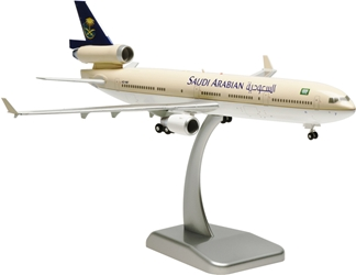 Saudi MD-11 (1:200) With Gear, Registration: HZ-HM7, Hogan Wings Collectible Airliner Models Item Number HG0878G