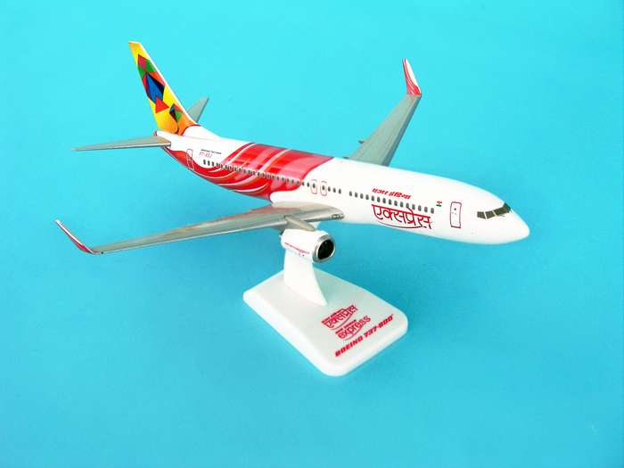 Air India Express 737-800W REG#VT-AXB (1:200) W/Gear, Hogan Wings Collectible Airliner Models Item Number HG3800GB