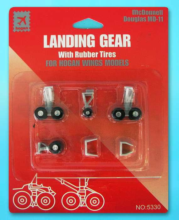 Landing Gear for Hogan MD-11 (1:200), Hogan Wings Collectible Airliner Models Item Number HG5330