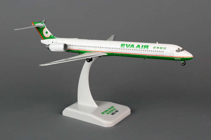 EVA Air MD-90 (1:200) B-17917, Hogan Wings Collectible Airliner Models Item Number HG5798