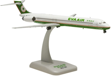 EVA MD-90 REG#B-17923 (1:200), Hogan Wings Collectible Airliner Models Item Number HG5804