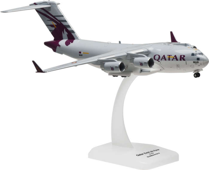 Hogan Wings Military Airplane Models C 17 Qatar Emiri Air Force