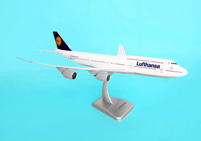 Lufthansa 747-8I (1:200) No Gear, Hogan Wings Collectible Airliner Models Item Number HGLH07