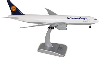 Lufthansa 777-200F (1:200) With Gear, Registration: D-ALFA, Hogan Wings Collectible Airliner Models Item Number HGLH26