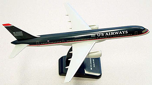US Airways B757-200 (1:200), Hogan Wings Collectible Airliner Models Item Number HG1455G