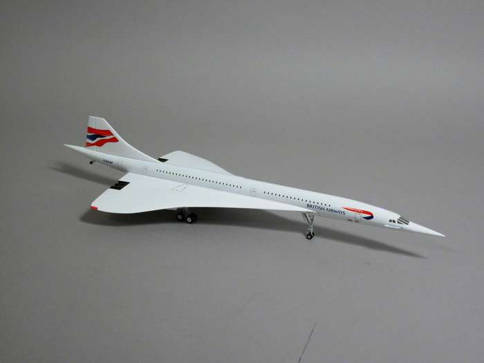 British Airways Concorde TAIL #G-BOAB (1:200)