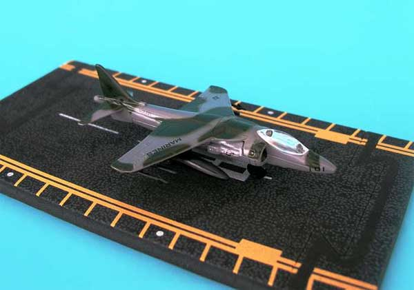 "AV-8B Harrier Green Camoflage (Approx. 5""), Hot Wings Toy Airplanes Item Number HW14146"