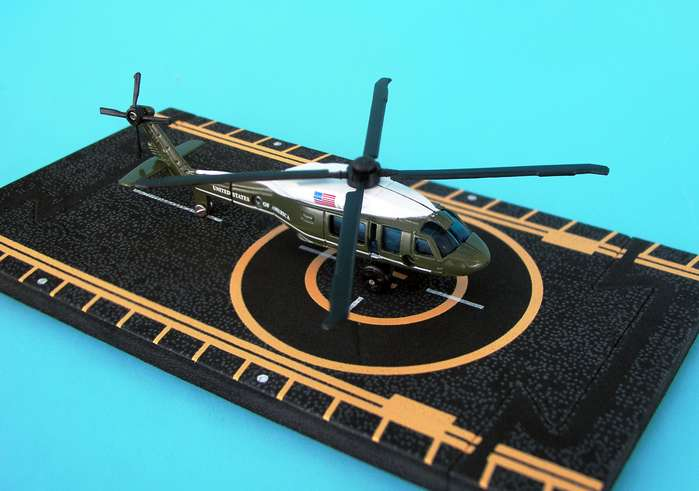 "Marine One UH-60 Presidential Helicopter (Approx. 5""), Hot Wings Toy Airplanes Item Number HW14147"