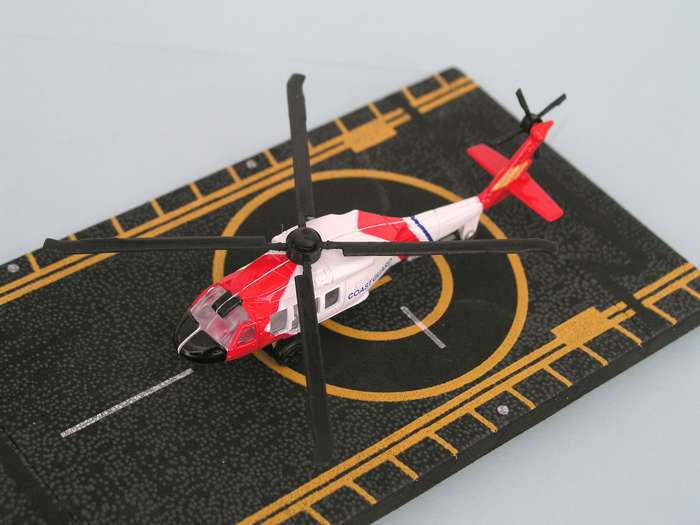 "Coast Guard Helicopter (Approx. 5""), Hot Wings Toy Airplanes Item Number HW14136"
