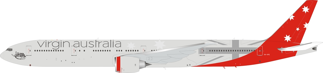 Virgin Australia Airlines Boeing 777-3ZG/ER VH-VPE with stand (1:200)