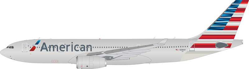 American Airlines Airbus A330-200 N280AY (1:200), InFlight 200 Scale Diecast Airliners Item Number IF3320916